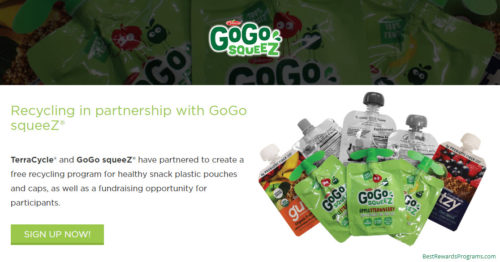 GoGo squeeZ Free Recycling Program