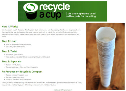 How to Recycle K-Cups and Coffee Pods