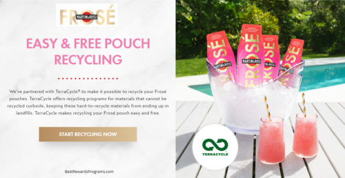 Martini & Rossi Frose Pouch Recycling