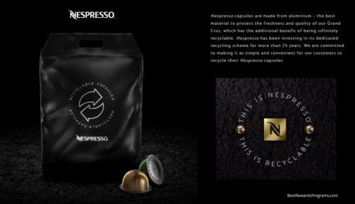 Nespresso Free Aluminum Capsule Recycling