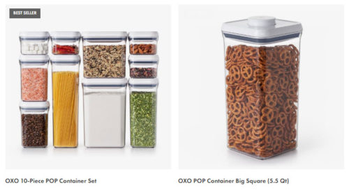 OXO Pop Container Kitchen Airtight Storage