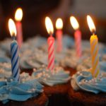 Free Birthday Sweets Birthday Candles on Cupcakes