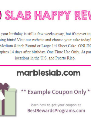 Marble Slab Creamery Free Birthday Food #marbleslabcreamery