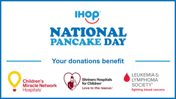 IHOP National Pancake Day Charities