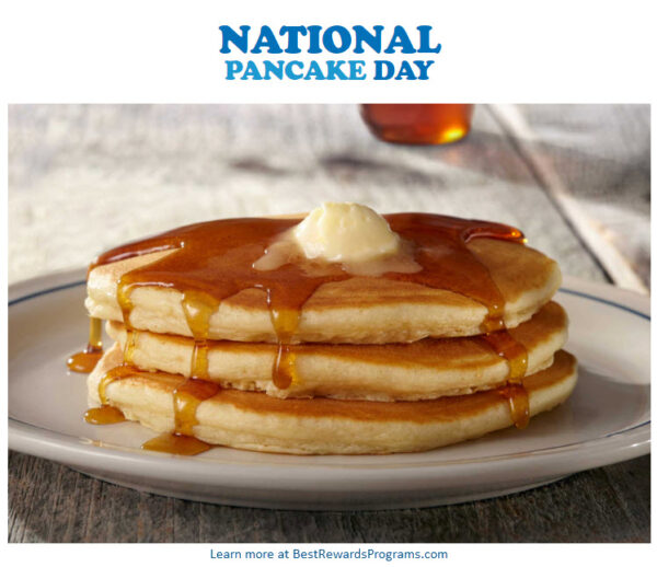National Pancake Day on February 25, 2020