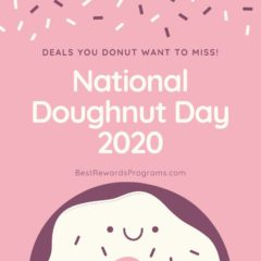 National Doughnut Day 2020 on Friday, June 5th