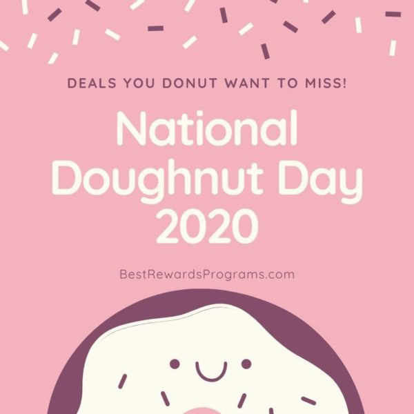 National Doughnut Day 2020 on Friday, June 5th #NationalDoughnutDay