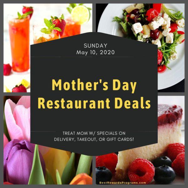 Mother's Day Restaurant Deals 2020