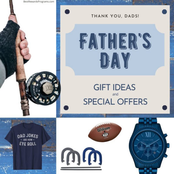 Father's Day Gift Ideas and Special Offers 2020