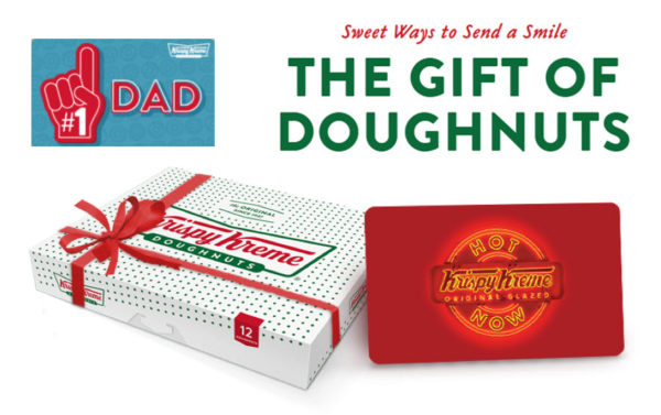 Gift Krispy Kreme Doughnuts for Father's Day