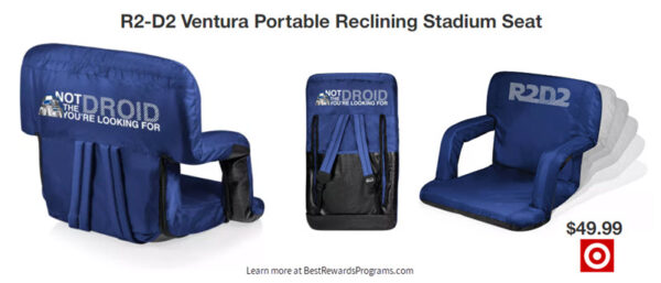 Star Wars Gift Reclining Stadium Seat