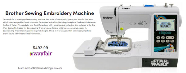 Star Wars Gift Brother Star Wars Sewing Embroidery Machine