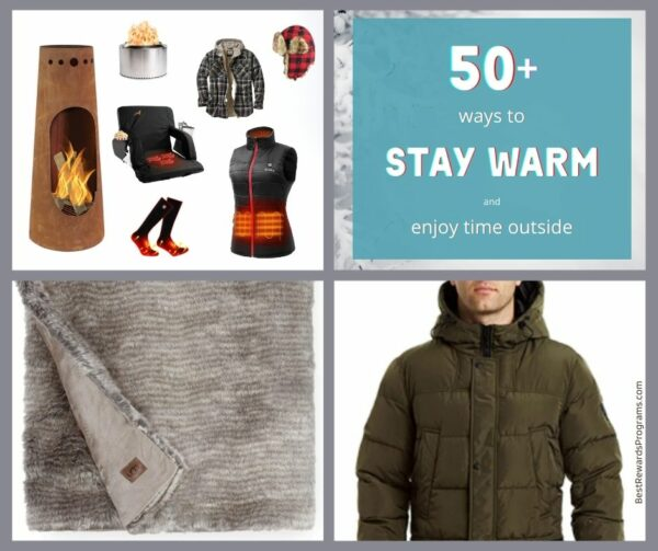 Products to Stay Warm Outside in Cold Weather